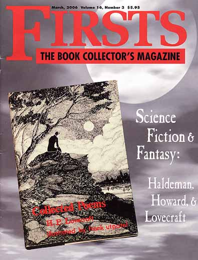 Firsts: The Book Collector's Magazine - March 2006