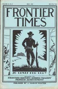 Frontier Times Volume 13 Number 8