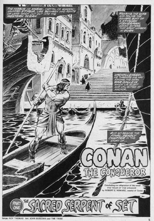 The Savage Sword of Conan Volume 1 Number 10