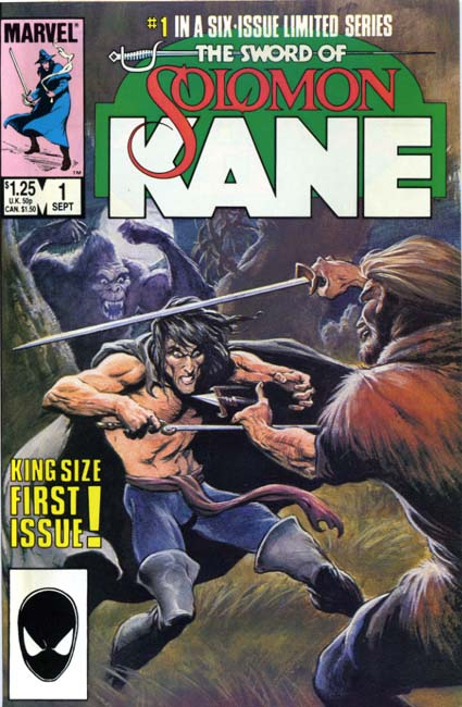 The Sword of Solomon Kane #1