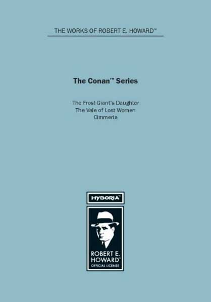 The Conan Series: The Frost-Giant's Daughter