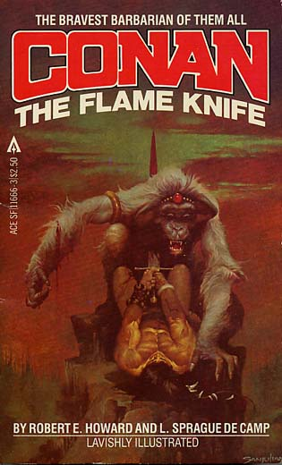 The Flame Knife