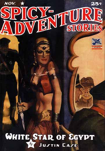 Spicy-Adventure Stories Volume 16 Number 4