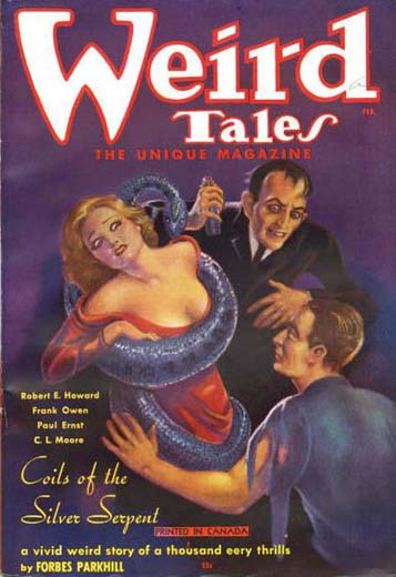 Weird Tales Volume 27 Number 2