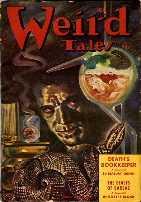 Weird Tales Volume 37 Number 6