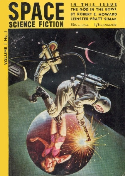 Space Science Fiction Volume 1 Number 1