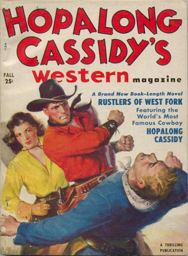 Hopalong Cassidy's Western Magazine Volume 1 Number 1