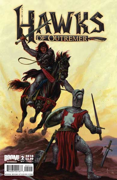 Robert E. Howard's Hawks of Outremer #2 (of 4)