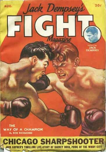 Jack Dempsey's Fight Magazine Volume 1 Number 3