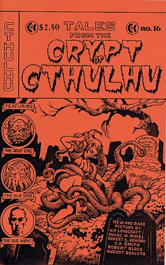 Crypt of Cthulhu #16