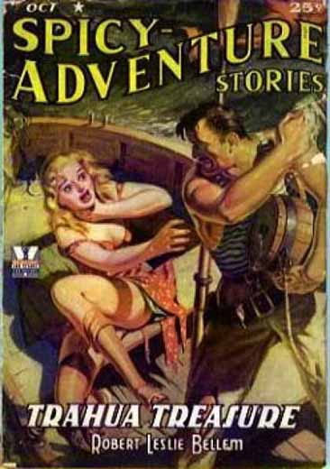 Spicy-Adventure Stories Volume 16 Number 3