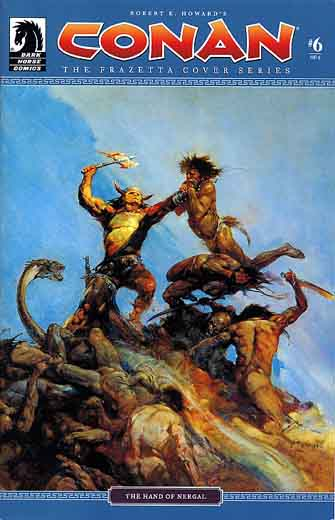 Conan - The Frazetta Cover Series #6: The Hand of Nergal