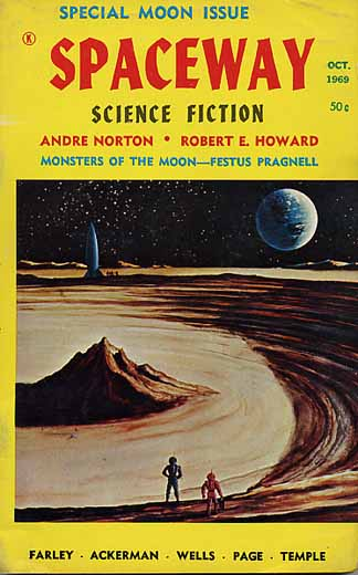 Spaceway Science Fiction Volume 4 Number 3
