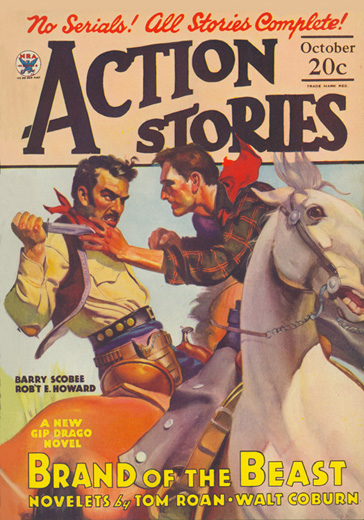 Action Stories Volume 13 Number 4