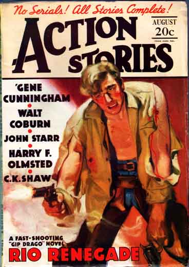 Action Stories Volume 13 Number 9
