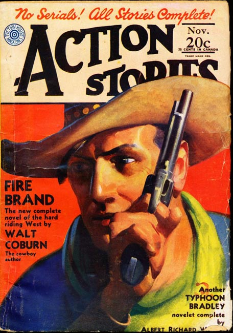 Action Stories Volume 11 Number 3