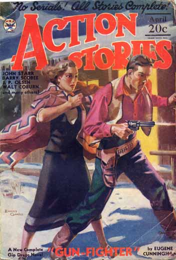 Action Stories Volume 13 Number 1