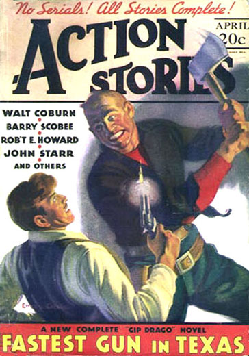 Action Stories Volume 13 Number 7