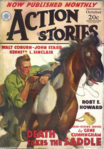 Action Stories Volume 13 Number 11