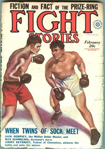 Fight Stories Volume 2 Number 9