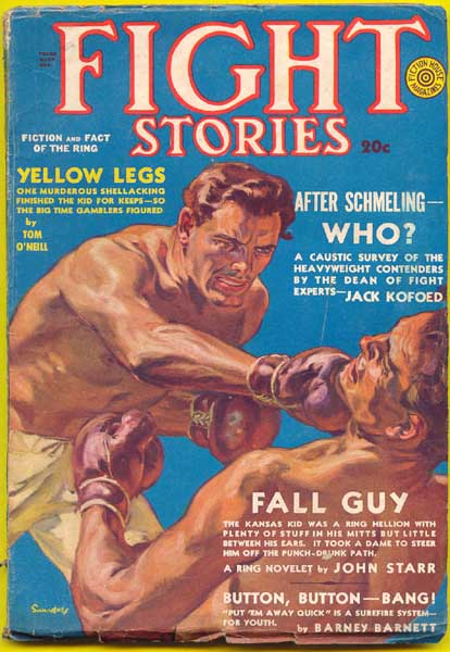 Fight Stories Volume 5 Number 9