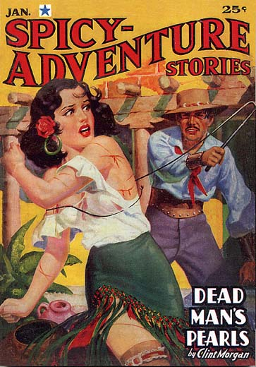 Spicy Adventure Stories - January 1937