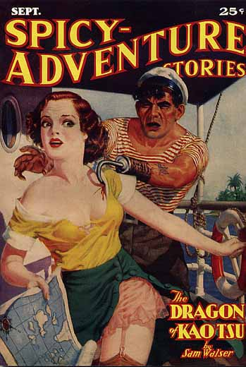 Spicy-Adventure Stories Volume 4 Number 6