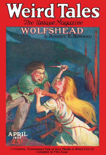 Weird Tales Volume VII Number 4