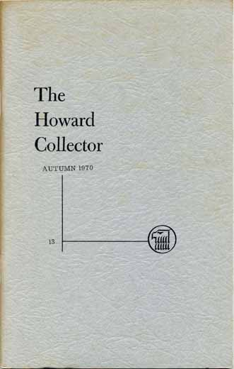 The Howard Collector #13
