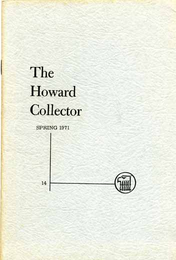 The Howard Collector #14