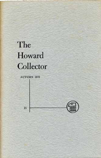 The Howard Collector #15