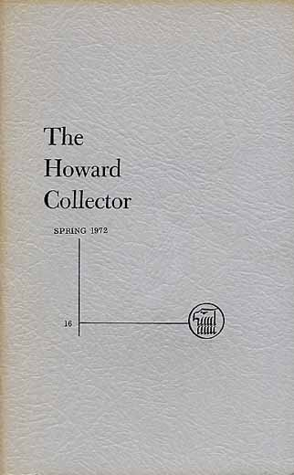 The Howard Collector #16