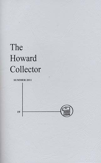 The Howard Collector #19 (Volume 4 Number 1)