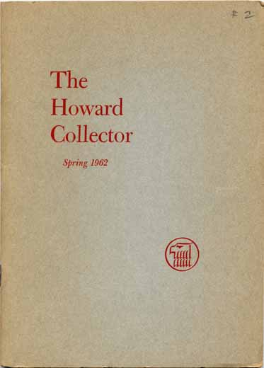 The Howard Collector #2