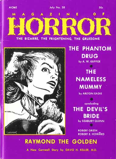 Magazine of Horror #28