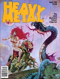 Heavy Metal April 1981