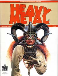 Heavy Metal December 1980
