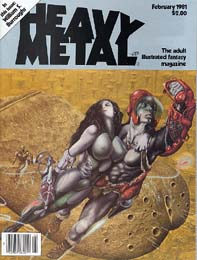 Heavy Metal February 1981