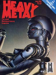 Heavy Metal July 1981