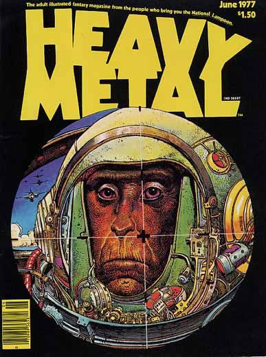 Se nos fue Moebius... Heavymetal-june1977