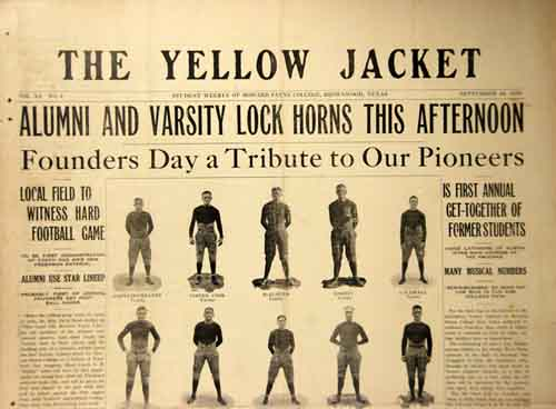 The Yellow Jacket Volume XI Number 4