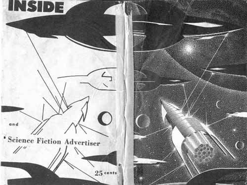Inside and Science Fiction Advertiser #16