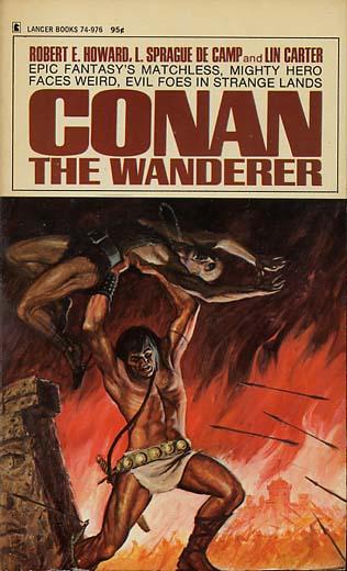 Livros do Conan, vários escritores. Lancer-conanthewanderer