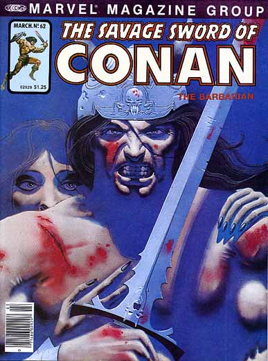 The Savage Sword of Conan #62