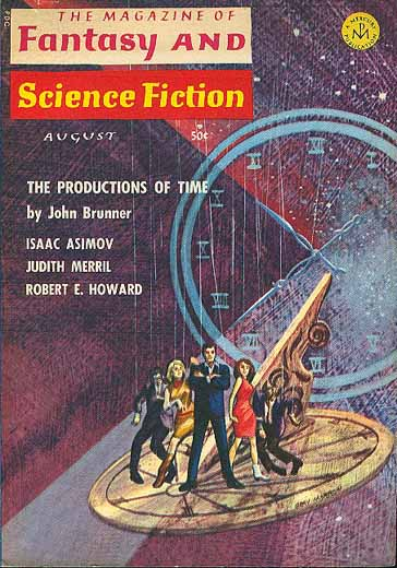 The Magazine of Fantasy and Science Fiction Volume 31 Number 3