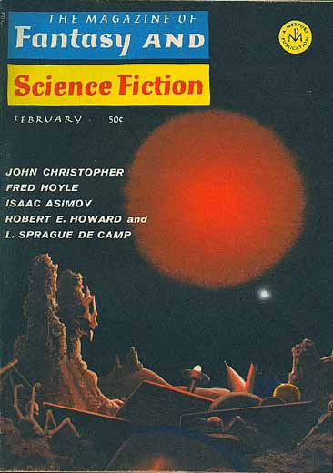 Resultado de imagen de The Magazine of Fantasy and Science Fiction
