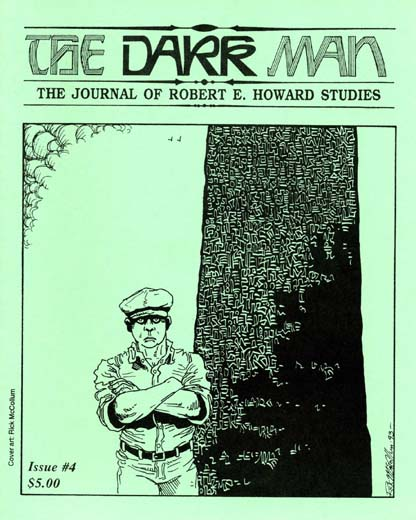 The Dark Man #4: The Journal of Robert E. Howard Studies