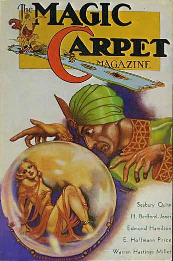 The magic carpet magazine cover