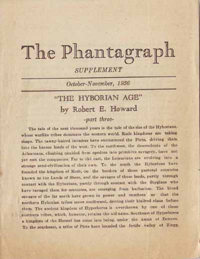 The Phantagraph Volume 5 Number 1