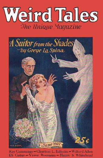 Weird Tales Volume 9 Number 6